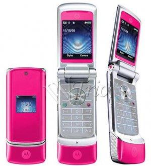 Motorola KRZR K1 'Pink' Mobile Cellular Phone (Unlocked)