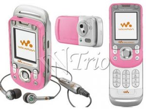 Sony Ericsson 'Pink' W600i MP3/Mobile Cellular Phone Rb
