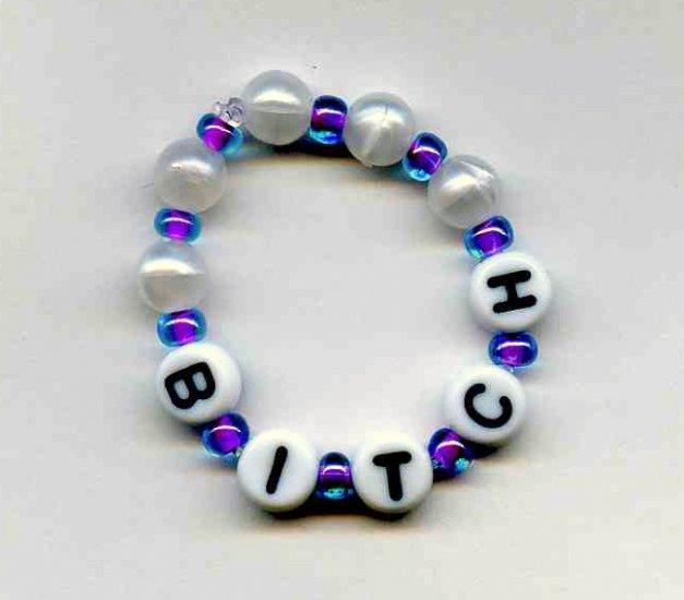 BITCH Dog (or Cat) bracelet