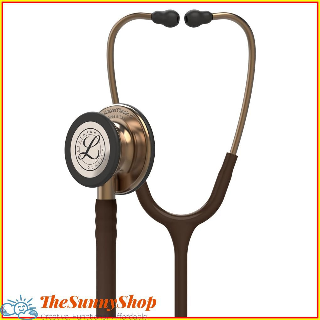 """Classic Stethoscopes by 3M Littmann Classic III 27"""" Monitoring Stethoscope, New In Box - 809"""