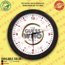9 THE GUESS WHO Wall Clocks