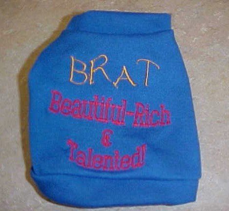 BRAT shirt X-small-Large