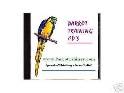 Teach Parrots to Talk - Parrot / Bird Training CD