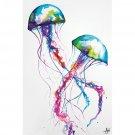 Marc Allante Jellyfish Cool Wall Decor Art Print Poster 24x36
