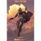"""Star Wars: The Mandalorian - TV Poster (Season 2 - This Is The Way) (24"""" X 36"""")"""