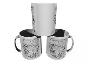 Ronald Reagan Sketch 11oz. Coffee Cup