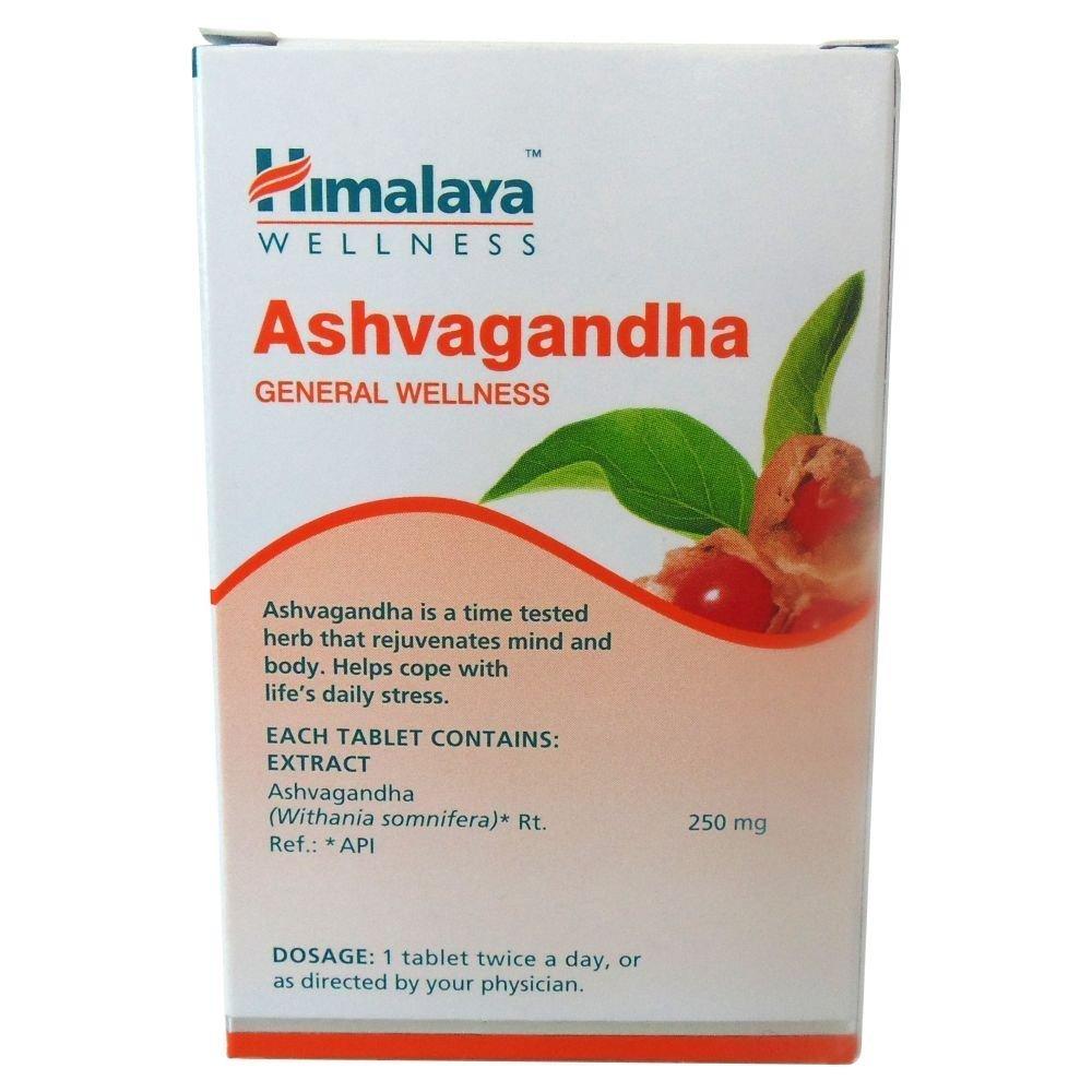 Himalaya Herbals Ashvagandha - 60 Tablets (Pack of 4)