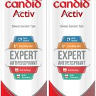 Candid Activ Sweat Control Talc, 100 g (Pack of 2)