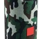 Waterproof Portable Bluetooth Speaker with Rich Deep Bass (Army Colour) PACK OF2