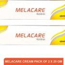 AJANTA Melacare Cream | Dark Spot Removal Cream(pack of 2)25g  (50 g)