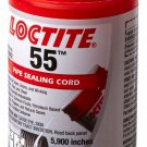 """Loctite 55 442-35082 5700"""" Length Pipe Sealing Cord, Opaque Off-White Color"""