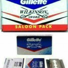 GILLETTE 110 Pcs Wilkinson Sword Blade - FAST SHIP