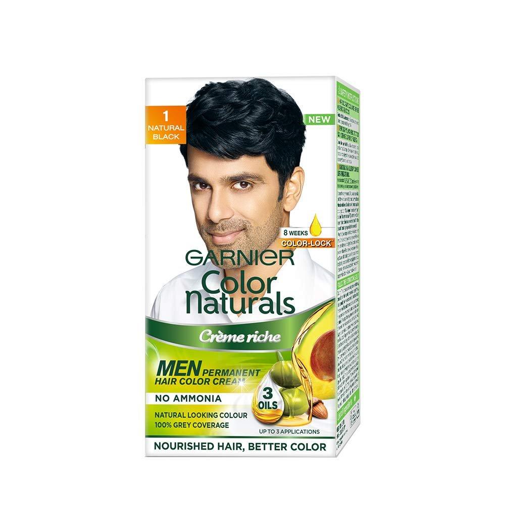 Garnier Color Naturals Men Shade 1 Natural Black, 36ml + 24g