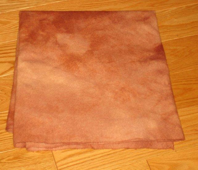 SANDED MAHOGANY overdye wool rug hooking 1/4 yard -- Woolly Mammoth Woolens