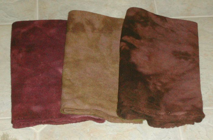 GROWN ON THE VINE set wool for rug hooking -- Woolly Mammoth Woolens