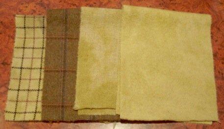 BRONZE MEDAL overdye wool for rug hooking -- Woolly Mammoth Woolens