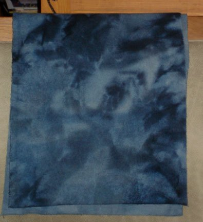 CIVIL WAR BLUE overdye wool for rug hooking -- Woolly Mammoth Woolens