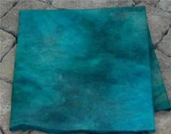 DEEP BLUE SEA abrashed wool for rug hooking -- Woolly Mammoth Woolens