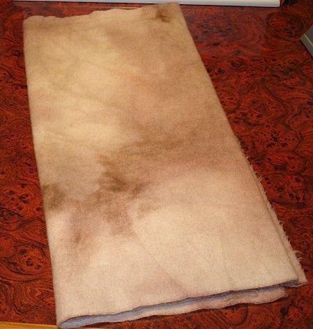 FURBALL overdye wool for rug hooking -- Woolly Mammoth Woolens