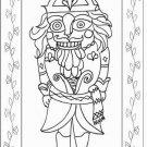 BARON NUTCRACKER rug hooking pattern -- Woolly Mammoth Woolens