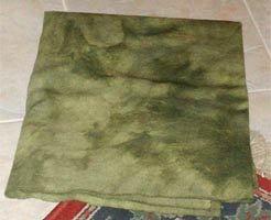 LEMON GRASS overdye wool for rug hooking -- Woolly Mammoth Woolens