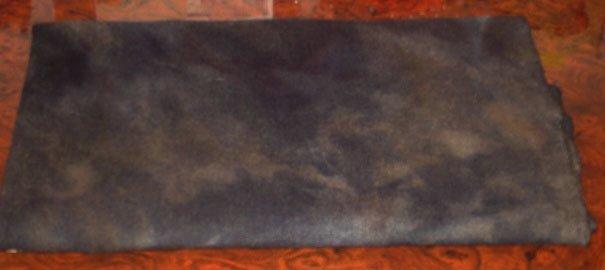 BLACK LEAD overdye wool for rug hooking -- Woolly Mammoth Woolens