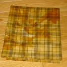 HARVEST GOLD PLAID overdye wool for rug hooking -- Woolly Mammoth Woolens