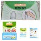 Wholesale Cleaning Nose Adaptors Saline Nasal Wash Sniffling on Syringe 40 pcs