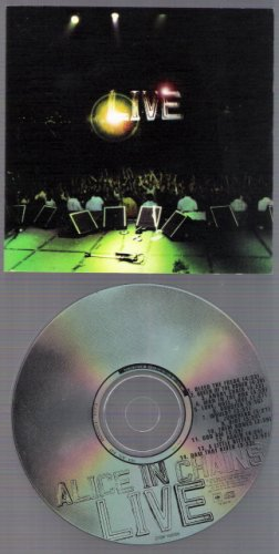 ALICE IN CHAINS Music CD LIVE 2000 Grunge Alternative FREE SHIPPING Layne Staley Seattle 90's Rare