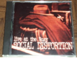 SOCIAL DISTORTION Album LIVE AT THE ROXY Music CD PUNK ROCK Mike Ness 90's FREE SHIPPING