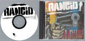 RANCID Debut Album SELF TITLED 1993 Music CD PUNK ROCK Epitaph Records FREE SHIPPING Tim Armstrong