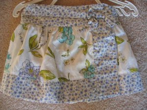 NWT Gymboree Bonjour Provence floral skort 18-24 new