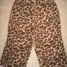 NWT Gymboree Teacher's Pet leopard pants 12-18 new