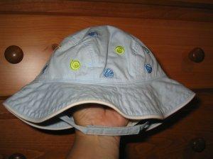 NWT Gymboree Splash blue shell sun hat 0-6 new