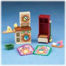 New Loving Family Laundry room dollhouse furniture NIB