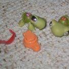 Littlest Pet Shop turtle duo 7 8 glasses