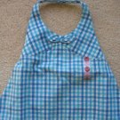 NWT Gymboree Pool Party blue plaid halter top 18-24 new