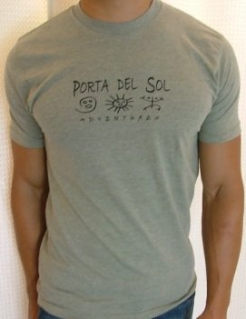 Porta del Sol T-Shirts as seen on Janice Dickinson Show!
