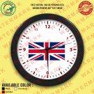 1 UK UNITED KINGDOM BRITISH ENGLAND NATIONAL FLAG Wall Clocks