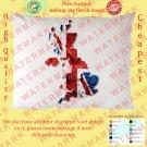 2 UK UNITED KINGDOM BRITISH ENGLAND NATIONAL FLAG Pillow Cases