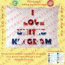 3 UK UNITED KINGDOM BRITISH ENGLAND NATIONAL FLAG Pillow Cases