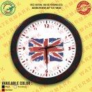 4 UK UNITED KINGDOM BRITISH ENGLAND NATIONAL FLAG Wall Clocks