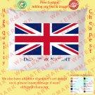 5 UK UNITED KINGDOM BRITISH ENGLAND NATIONAL FLAG Pillow Cases