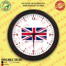 5 UK UNITED KINGDOM BRITISH ENGLAND NATIONAL FLAG Wall Clocks