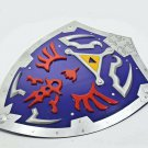 Link Dark Hylian Shield from Video Game blue color