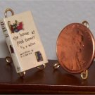 Dollhouse Miniature Book House on Pooh Corner AA Milne