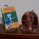 Dollhouse Miniature Book The Wizard of Oz L. Frank Baum