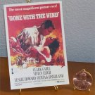 Dollhouse Miniature Book Gone with the Wind Movie Poster 1939