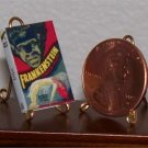 Dollhouse Miniature Book 1931 Frankenstein Photoplay Mary Shelley