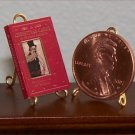 Dollhouse Miniature Book A Christmas Carol by Charles Dickens